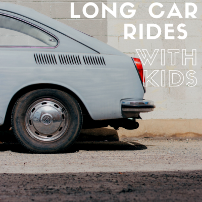 How To Prepare For A Long Car Ride With Kids