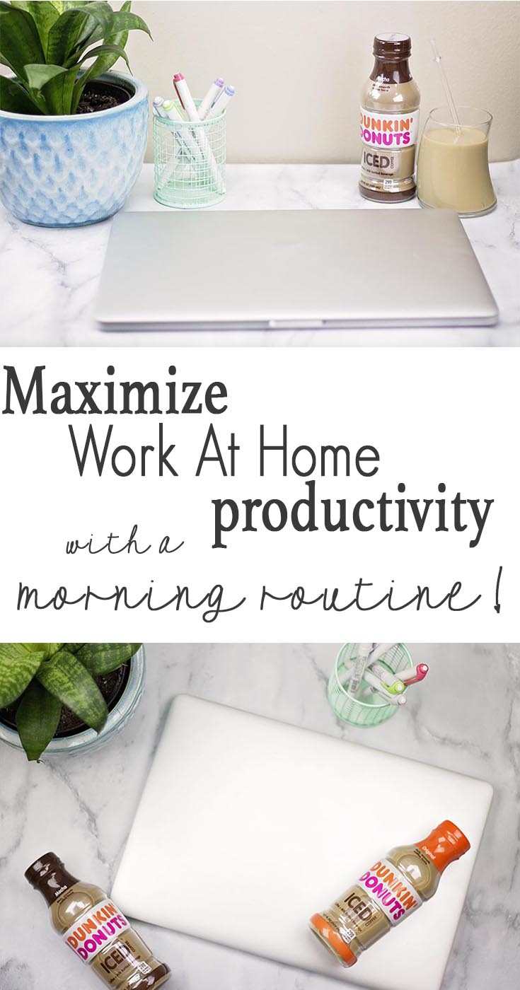 Maximize work at home productivity with a morning routine