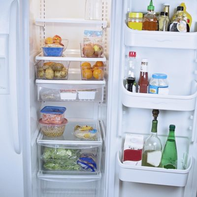 Clean and healthy fridge