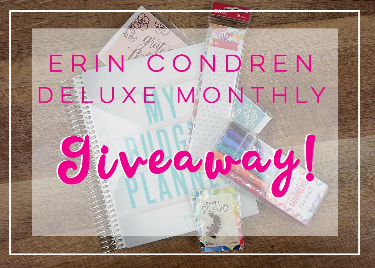 Erin Condren Deluxe Monthly Giveaway