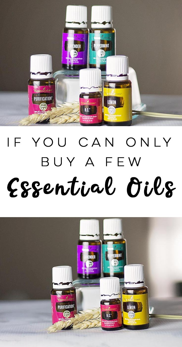 If You Can Only Buy A Few Essential Oils
