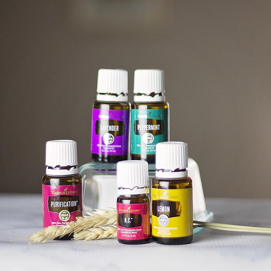A Few essential Oils