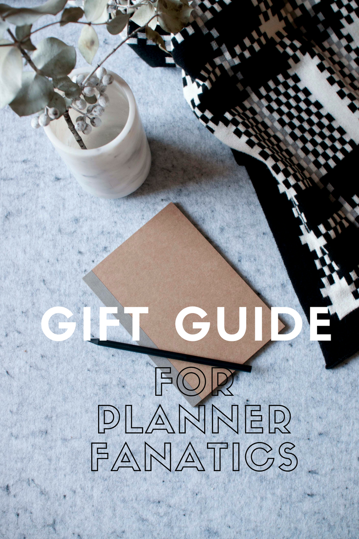 Gift Guide For Planner Fanatics