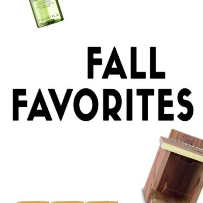 Fall Favorites