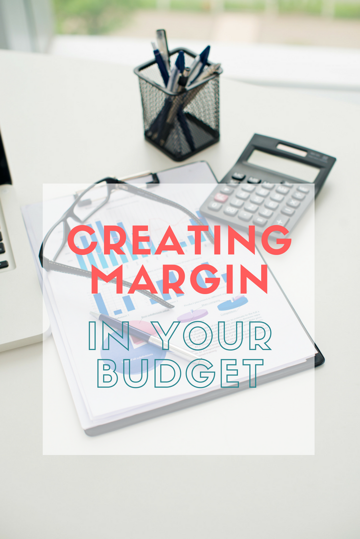 margin in your budget