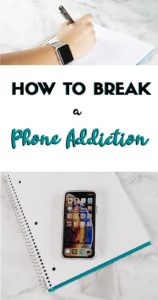 How to Break A Phone Addiction