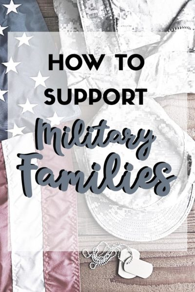 How To Support Military Families