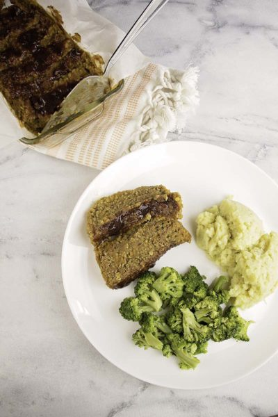 Low Fat Lentil Loaf