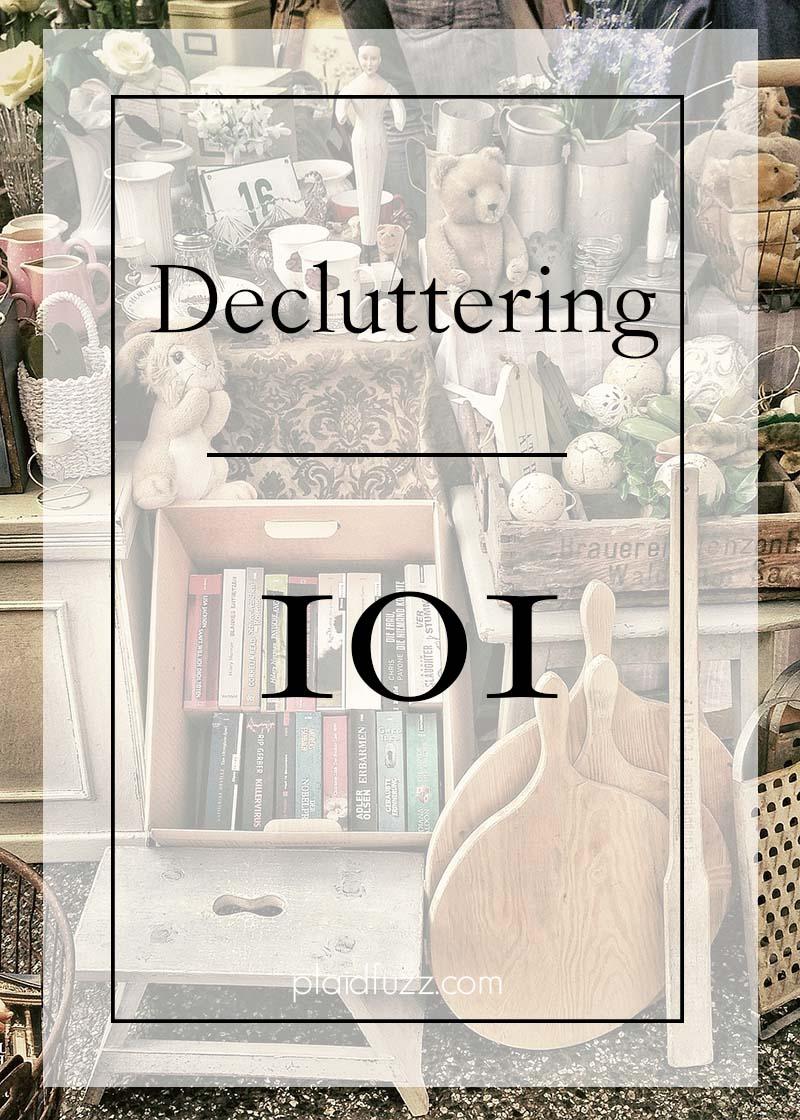 decluttering 101