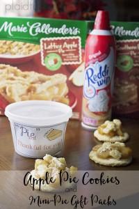 Apple Pie Cookies And Mini Pie Gift Packs