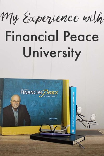 My experience with Financial Peace University