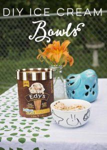 DIY Ice Cream Bowls