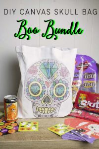 DIY Canvas Skull Bag Boo Bundle