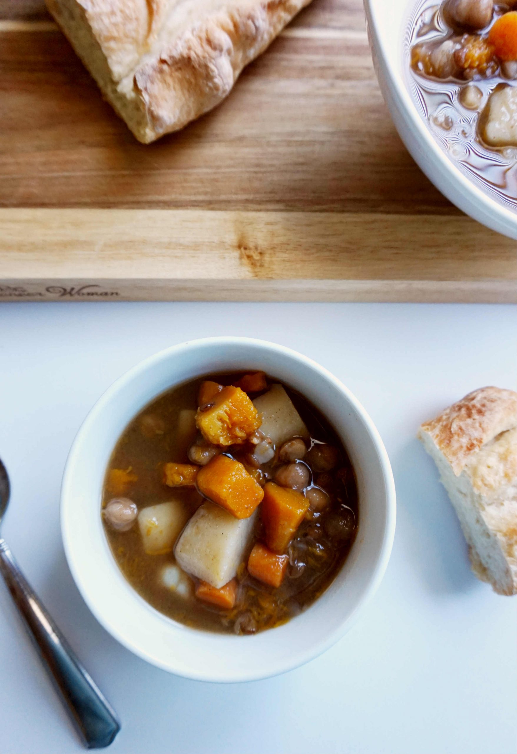 Instant Pot Moroccan Lentil Soup
