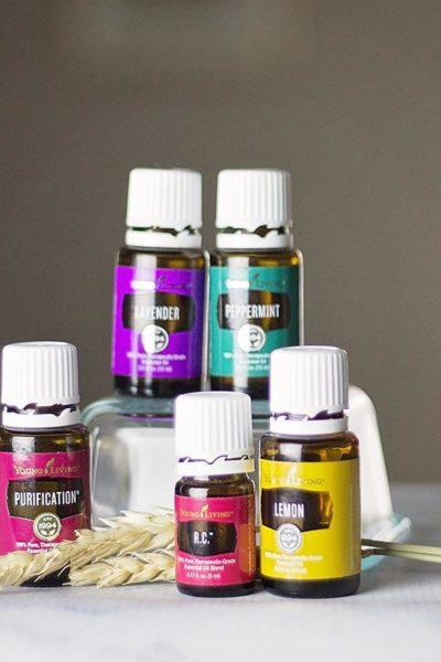 A Few essential Oils