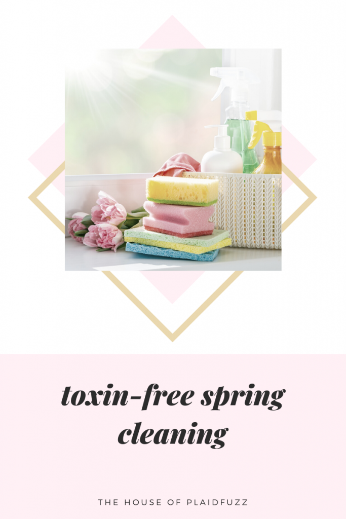 toxin free spring cleaning