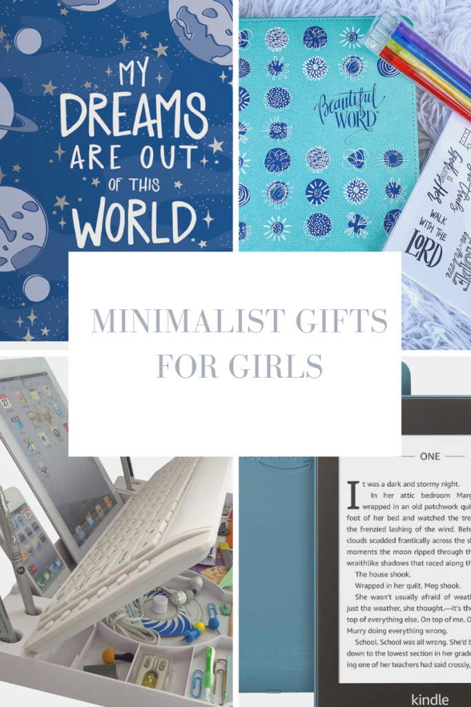 Minimalist Gifts For Girls